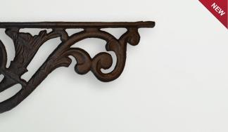 Кронштейн декоративный чугунный MT 5058