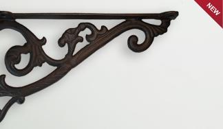 Кронштейн декоративный чугунный MT 4005
