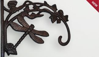 Кронштейн декоративный чугунный с подвесом Mt 5019