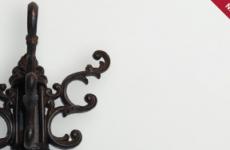 Крючок декоративный чугунный Mt 5161
