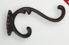 Крючок декоративный чугунный Mt 40030